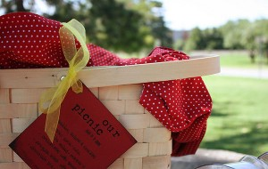 Take it Outside! Pre packed #Picnic Baskets